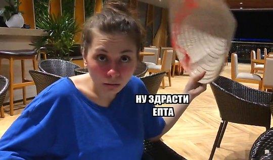 Пикапер в кафе снял русскую пьяную телочку и отымел ее на ка...